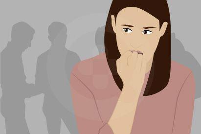Penderita agorafobia butuh seseorang untuk menemaninya pergi ke tempat-tempat umum