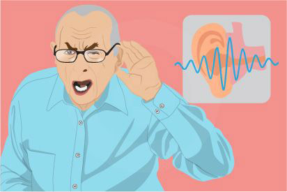 Gangguan pendengaran atau budek adalah kondisi dimana seseorang mulai kehilangan pendengaran