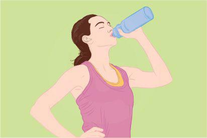 Diare dan muntah menjadi penyebab dehidrasi