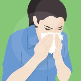 bersin adalah refleks tubuh untuk membersihkan hidung dan tenggorokan
