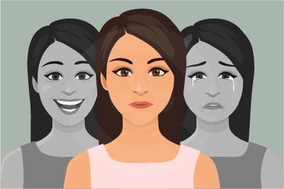 Penderita bipolar mempunyai suasana hati yang dapat berubah secara ekstrem