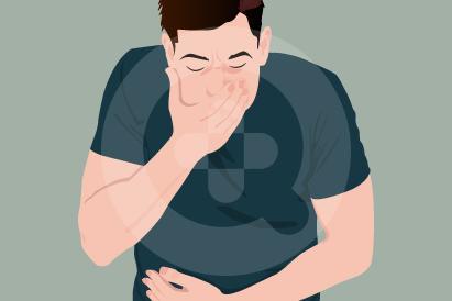 Mual dan muntah bisa menjadi gejala gangguan keseimbangan asam-basa.
