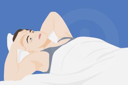 Stres dan kecemasan bisa memicu gangguan tidur berupa insomnia