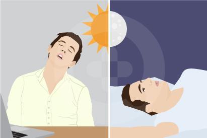Jet lag merupakan gangguan tidur karena melakukan perjalanan jauh dan adanya perbedaan waktu