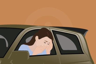 Mabuk perjalanan atau motion sickness muncul akibat gangguan pada keseimbangan tubuh