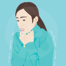 Menggigil adalah kondisi medis berupa perasaan dingin pada tubuh yang bisa muncul begitu saja