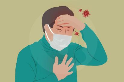 Masalah pernapasan ringan hingga berat bisa terjadi jika Anda terinfeksi virus corona (Covid-19)