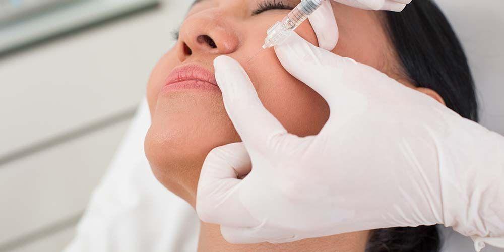 Suntik botox berguna untuk mencegah kontraksi otot sementara waktu