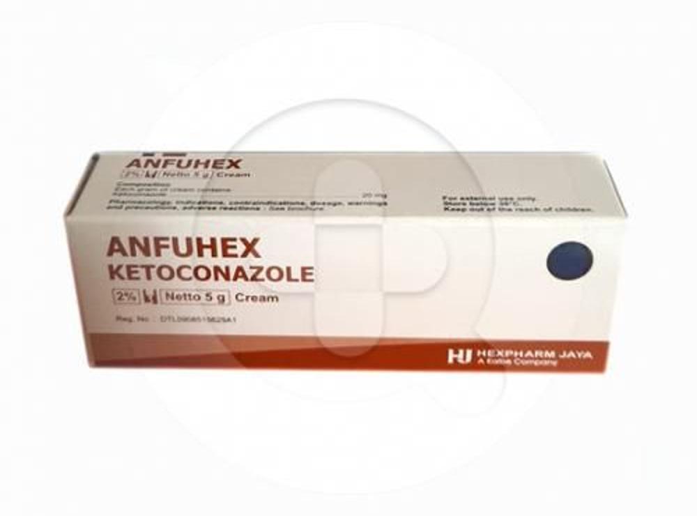 Anfuhex Krim 5 G Manfaat Dan Indikasi Obat Dosis Efek Samping