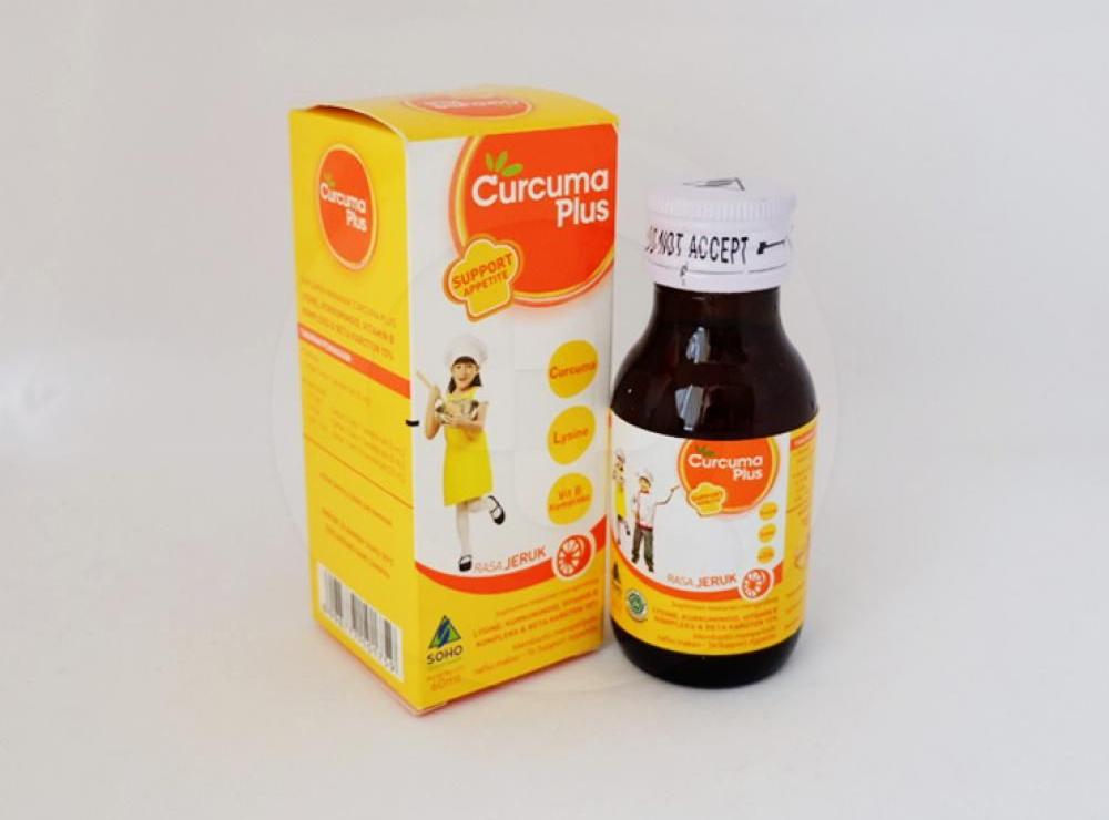 Curcuma plus 60 ml   Manfaat dan Indikasi Obat, Dosis, Efek Samping