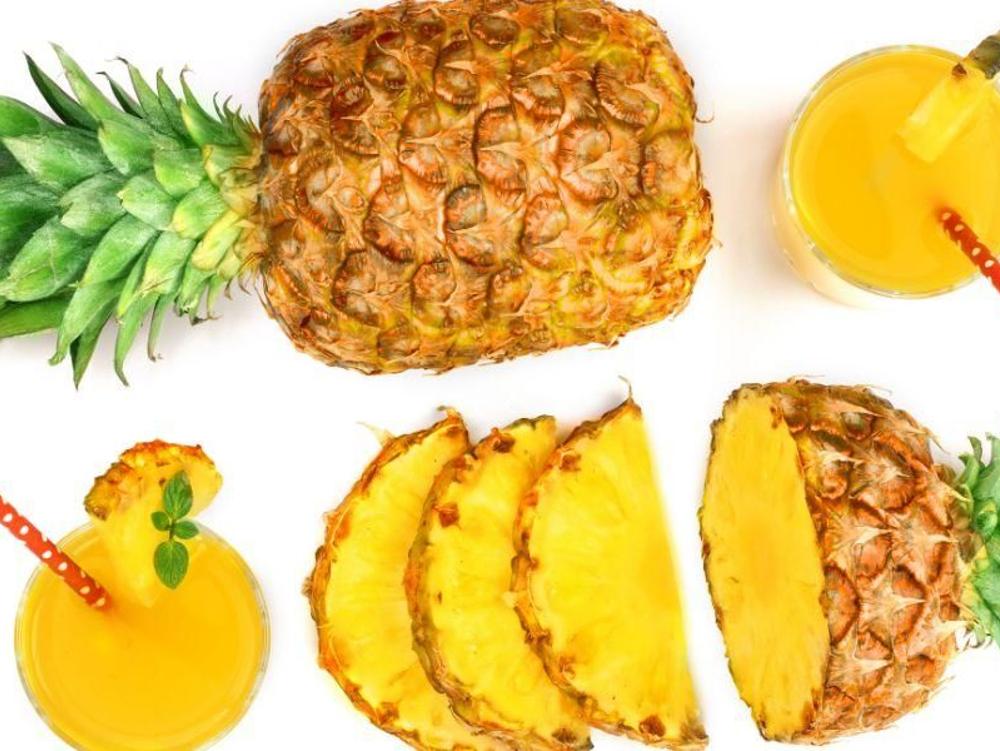 Buah nanas mengandung bromelain alami yang dapat mengurangi nyeri pada arthritis