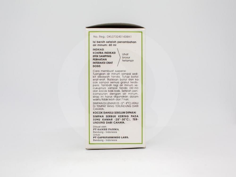 Amoxsan sirup kering dapat mengobati infeksi saluran pernapasan