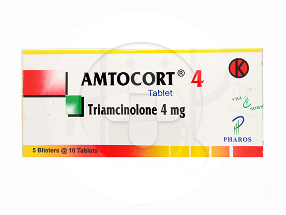 Amtocort tablet adalah obat yang digunakan untuk mengatasi peradangan dan reaksi alergi.