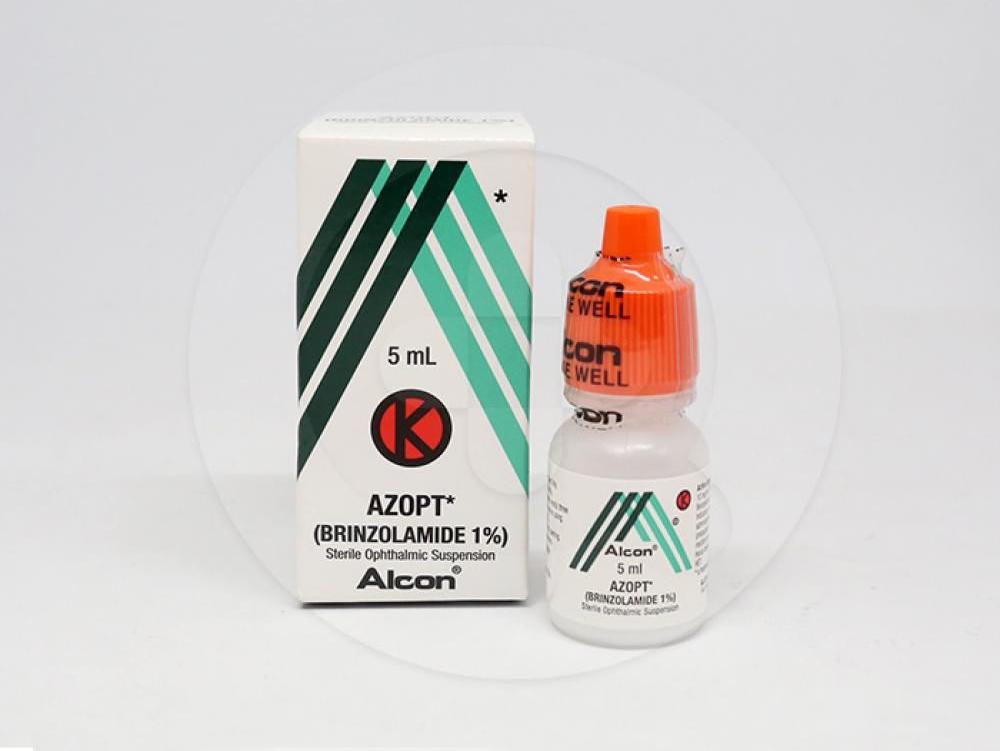 Azopt tetes mata adalah obat yang digunakan untuk mengobati pasien gangguan mata dengan tekanan tinggi pada bola mata atau glaukoma sudut terbuka