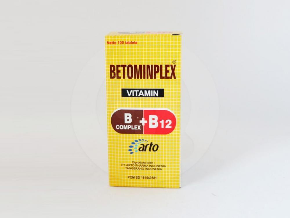 Betmonplex tablet obat untuk suplementasi vitamin B.