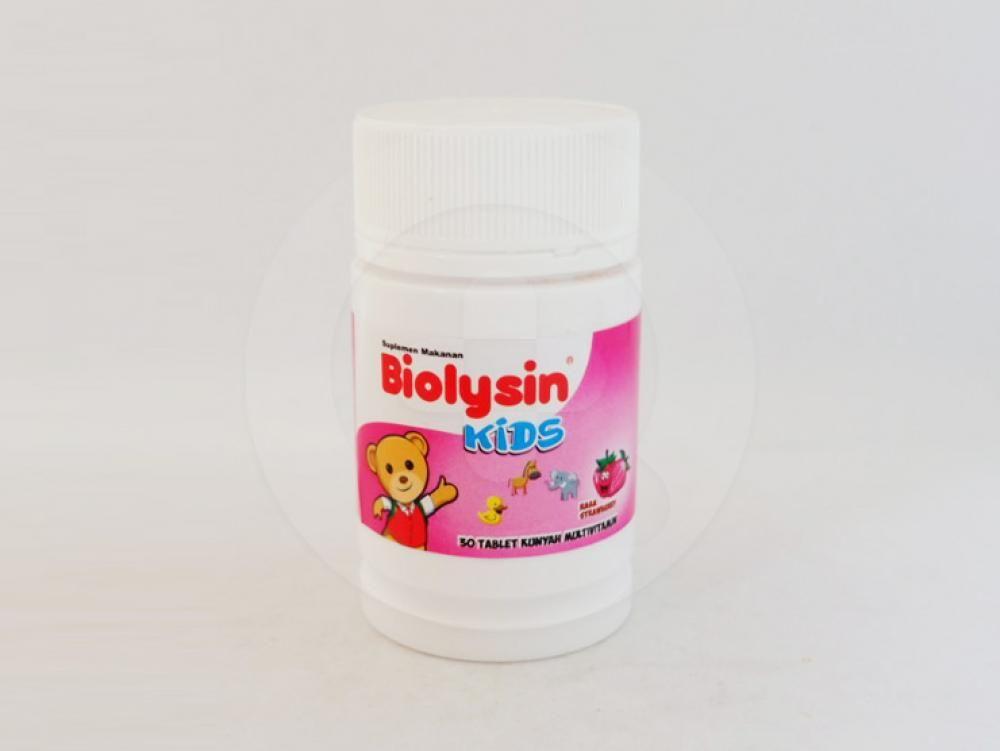 Biolysin kids adalah suplemen untuk memelihara kesehatan tubuh anak-anak.