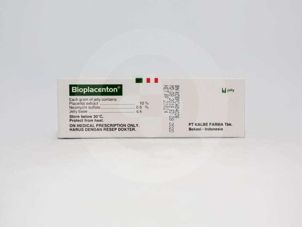 Bioplacenton gel digunakan untuk menyembuhkan luka bakar dan kulit yang melepuh