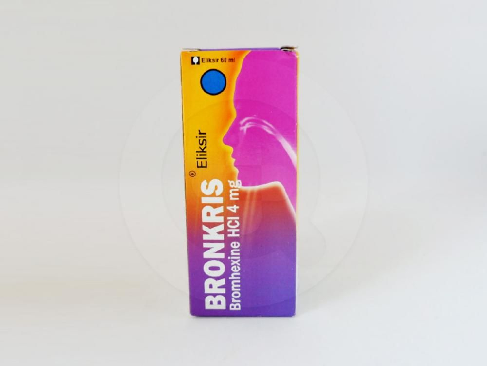 Bronkris eliksir 60 ml obat yang digunakan untuk meredakan batuk berdahak.