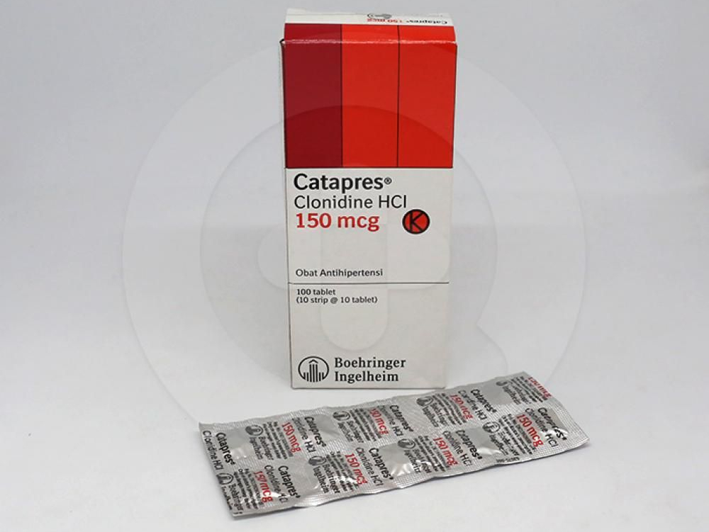 Catapres adalah obat untuk penderita hipertensi
