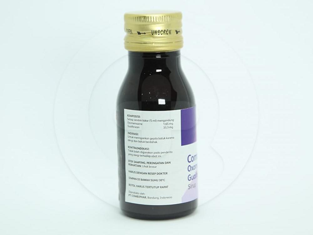 Comtusi adalah obat yang dapat meringankan gejala batuk karena alergi dan batuk berdahak