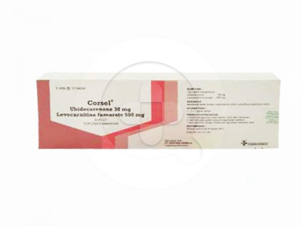 Corsel kaplet digunakan untuk membantu proses metabolisme lemak, karbohidrat, protein yang menghasilkan energi dan memelihara kesehatan tubuh.