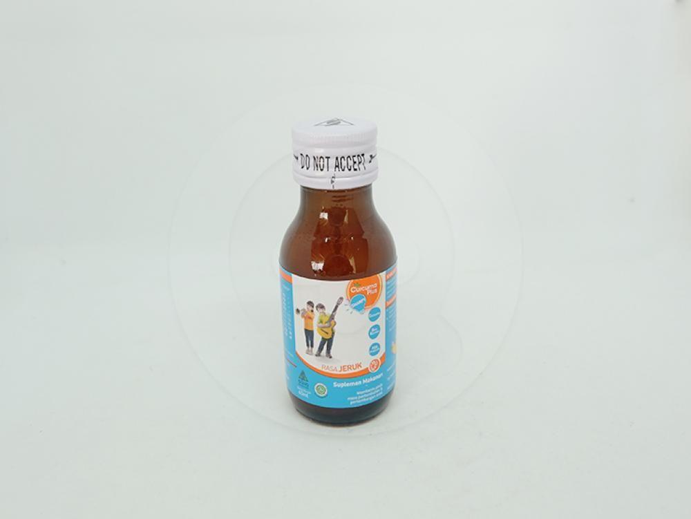Curcuma plus sharpy rasa jeruk sirup 60 ml | Informasi ...