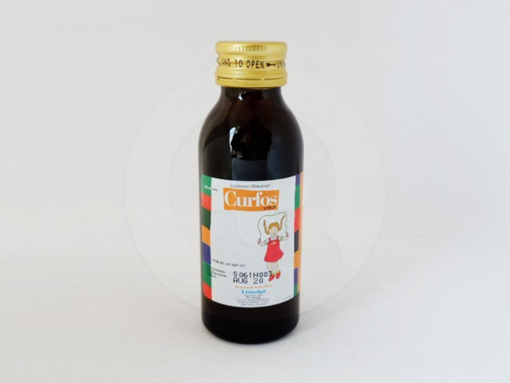 Curfos sirup 100 ml obat yang digunakan sebagai suplemen untuk membantu memeprbaiki nafsu makan.