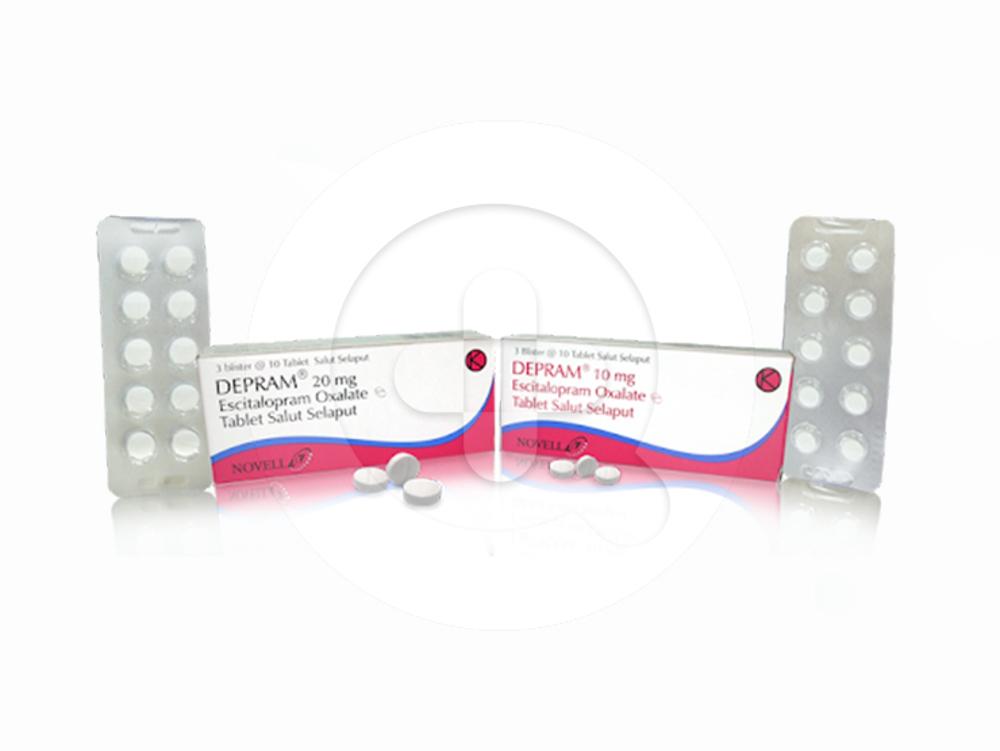 Depram tablet adalah obat untuk mengatasi gangguan kecemasan dan depresi.
