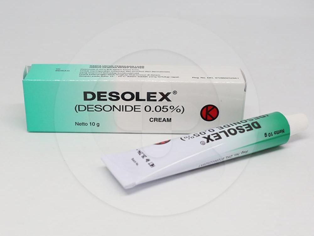 Desolex adalah obat untuk meringankan peradangan dan pruritus atau gatal dari kelainan kulit