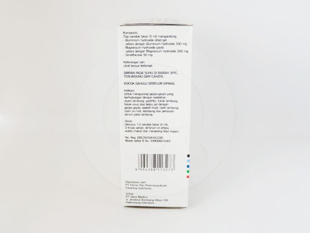 Dexanta suspensi adalah obat untuk mengurangi gejala-gejala yang berhubungan dengan kelebihan asam lambung.