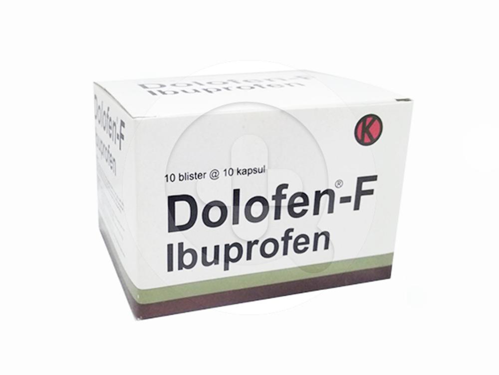 Dolofen-F kapsul adalah obat untuk meredakan nyeri ringan hingga sedang dan menurunkan demam.