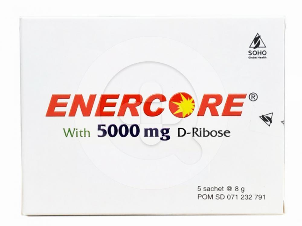 Enercore sachet merupakan suplemen untuk memelihara kesehatan.