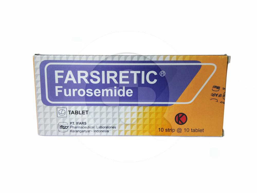 Farsiretic tablet adalah obat untuk mengatasi retensi cairan (edema) dan terapi hipertensi.
