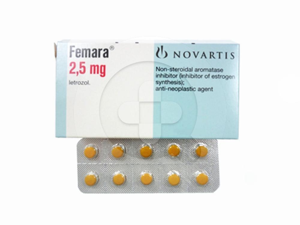 Femara tablet adalah obat untuk mengobati kanker payudara pada wanita setelah menopause.