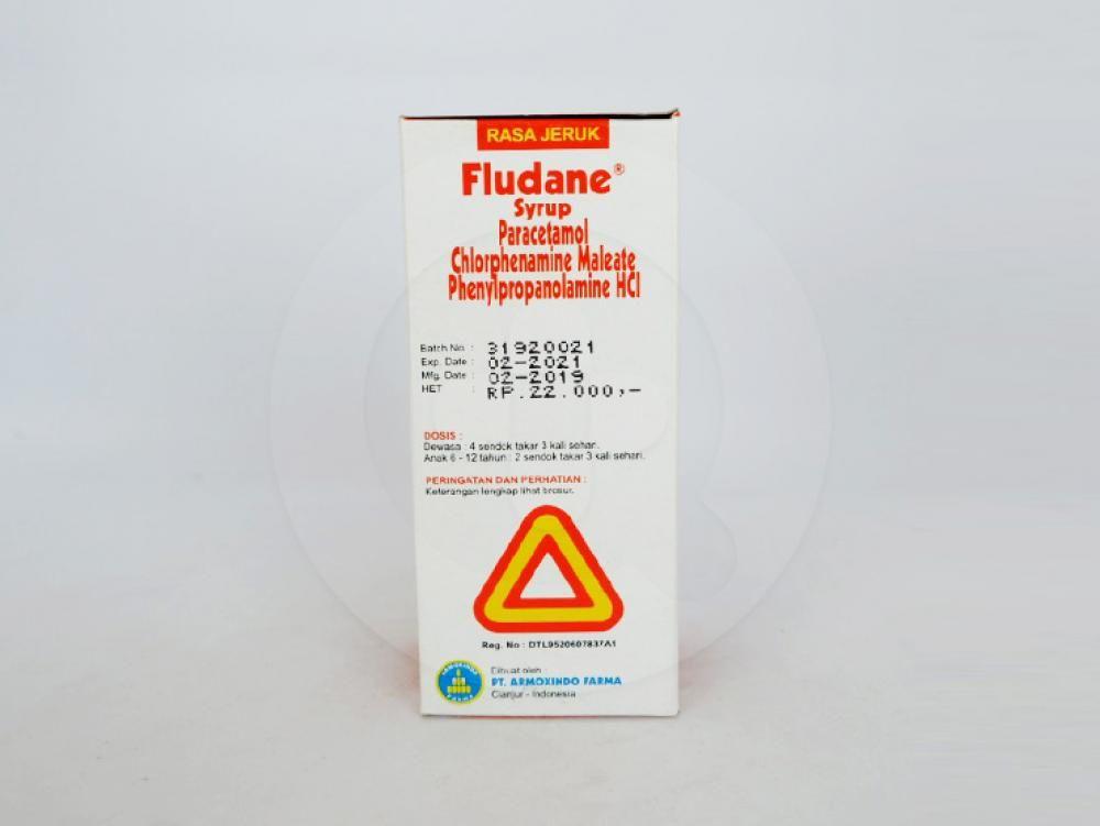 Fludane sirup 60 ml adalah obat yang digunakan untuk meringankan gejala flu.