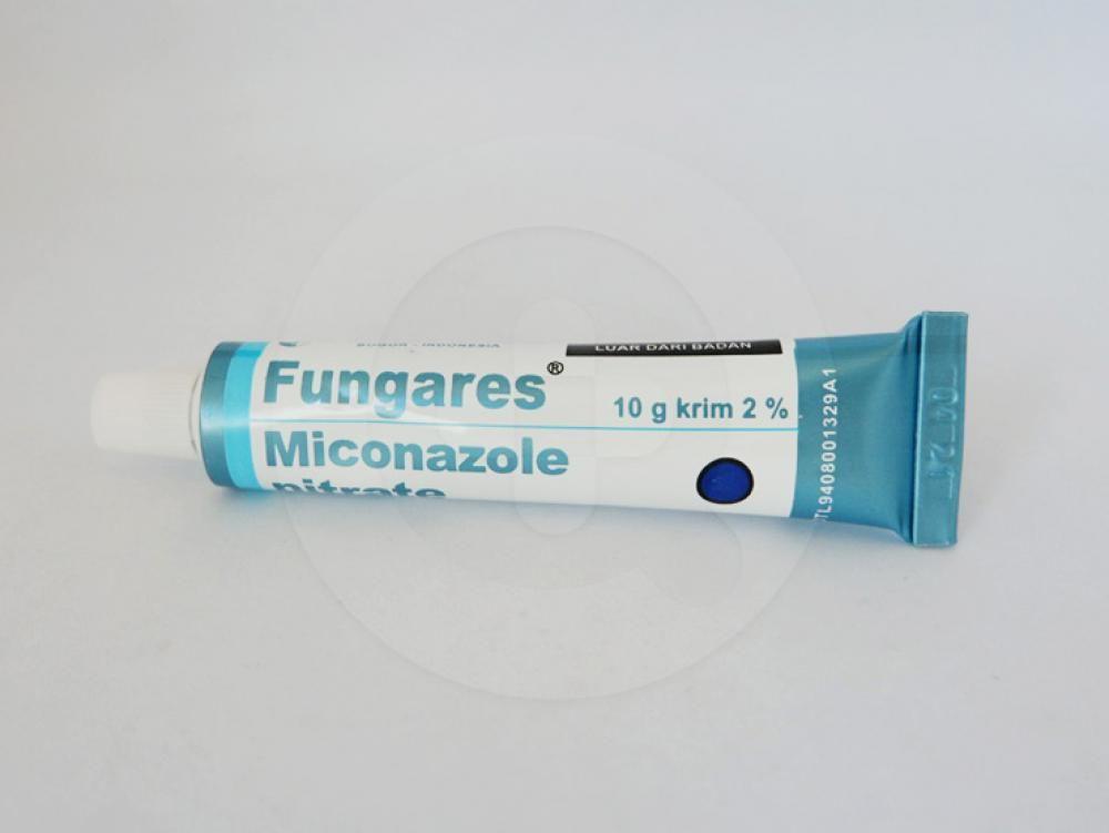 Fungares krim 2% 10 g berfungsi untuk mengobati infeksi kulit dan kuku yang disebabkan oleh dermatofita, kandida dan jamur lainnya.