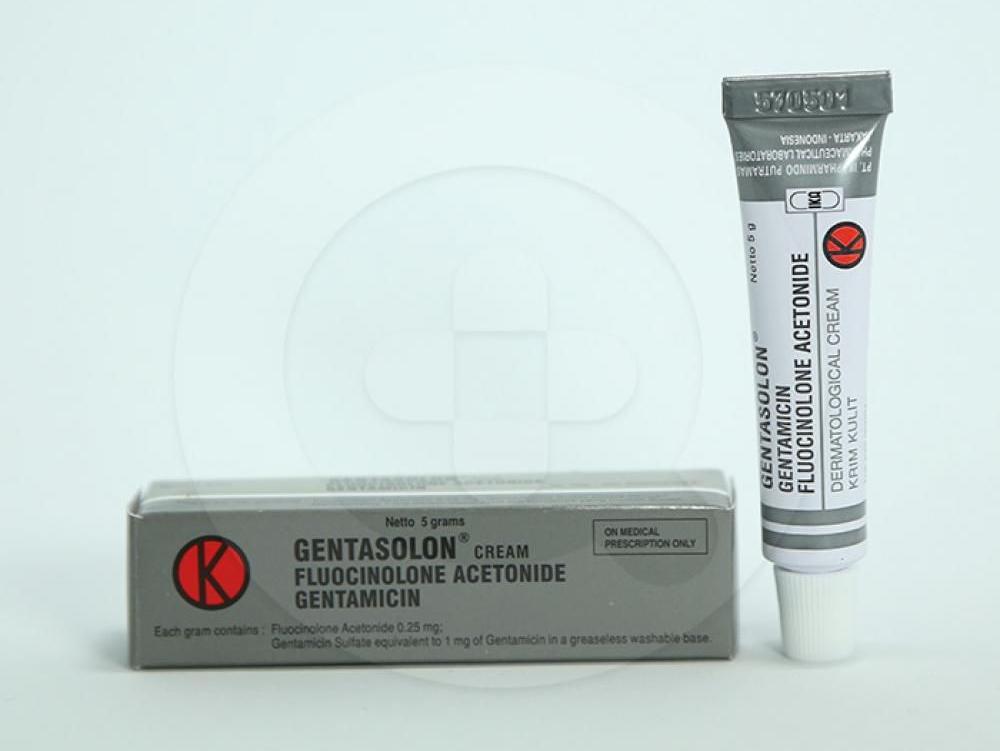 Gentasolon krim adalah obat untuk penyakit kulit yang disebabkan oleh peradangan dan infeksi