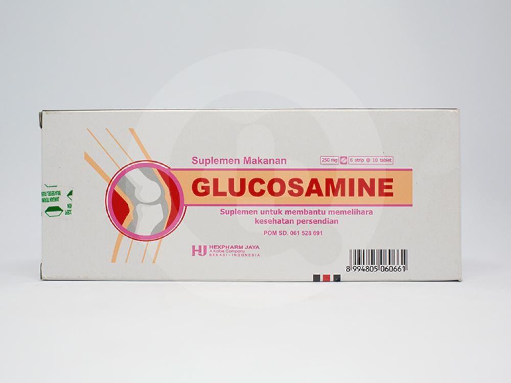 Glucosamine dapat digunakan untuk mengurangi nyeri sendi pada artritis