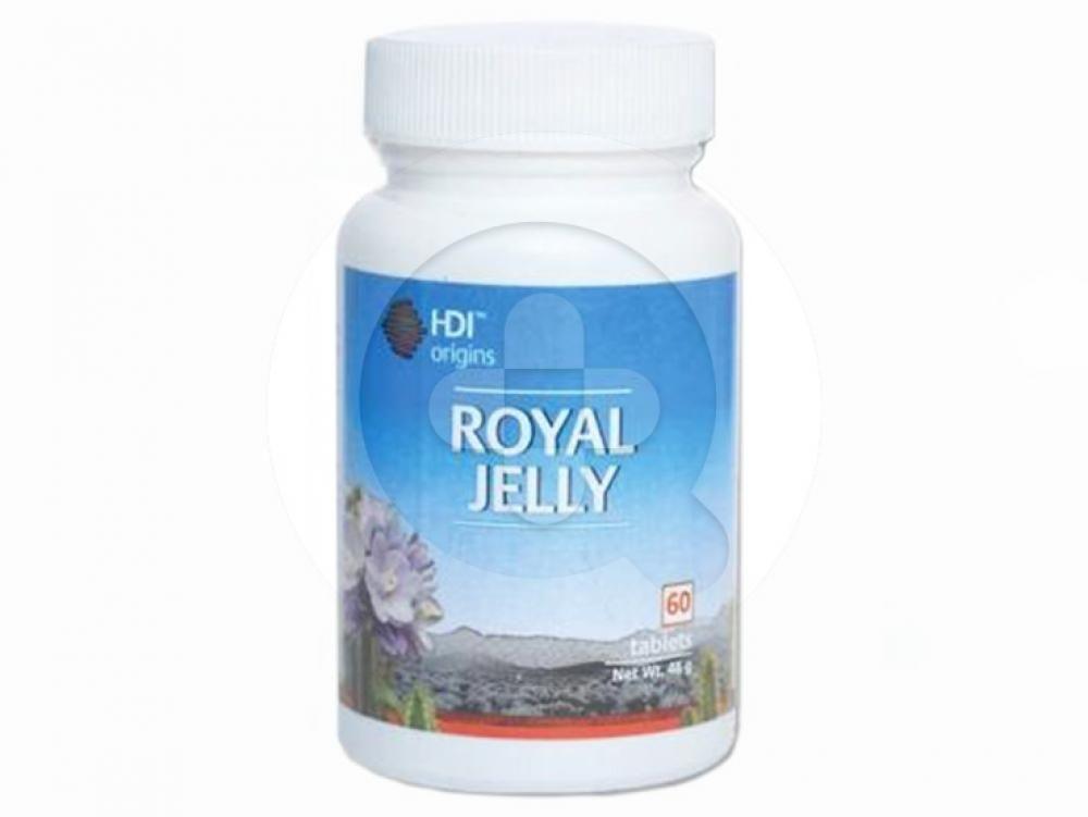 HDI Origins Royall Jelly tablet digunakan sebagai antioksidan, meningkatkan sistem imun dan mencegah pegeroposan tulang.