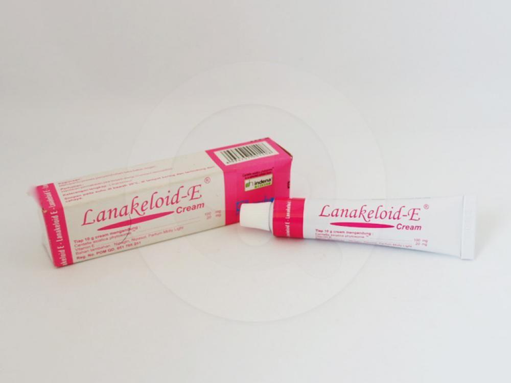 Lanakeloid-E krim 10 g berguna untuk membantu proses penyembuhan luka bakar ringan.