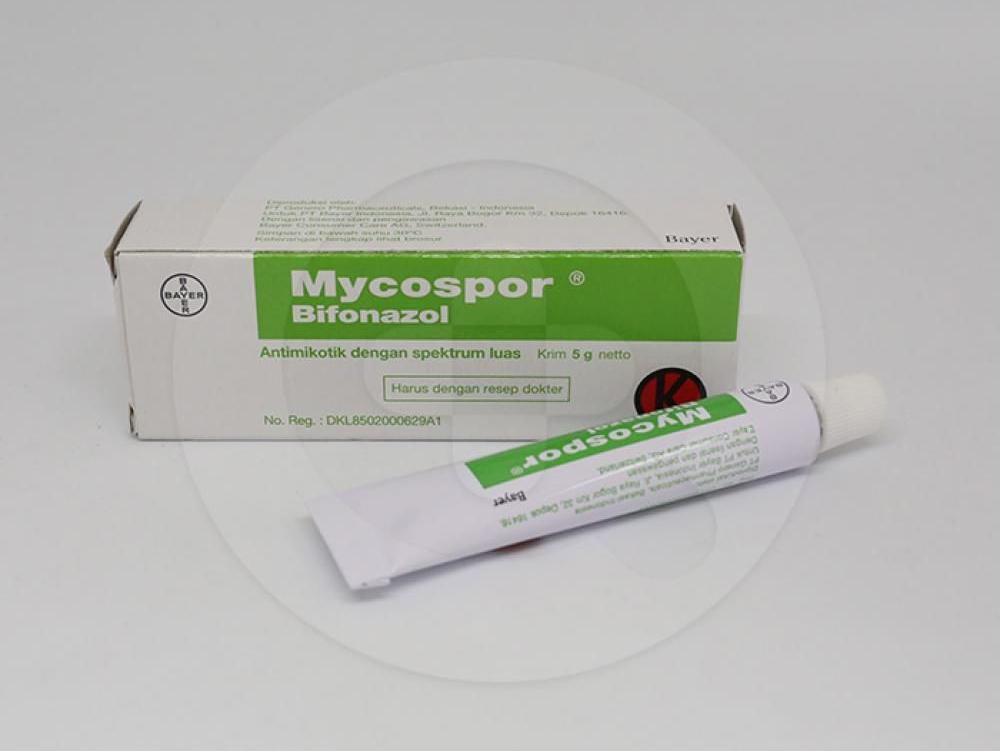 Mycospor adalah obat oles yang digunakan untuk mengobati infeksi jamur pada kulit