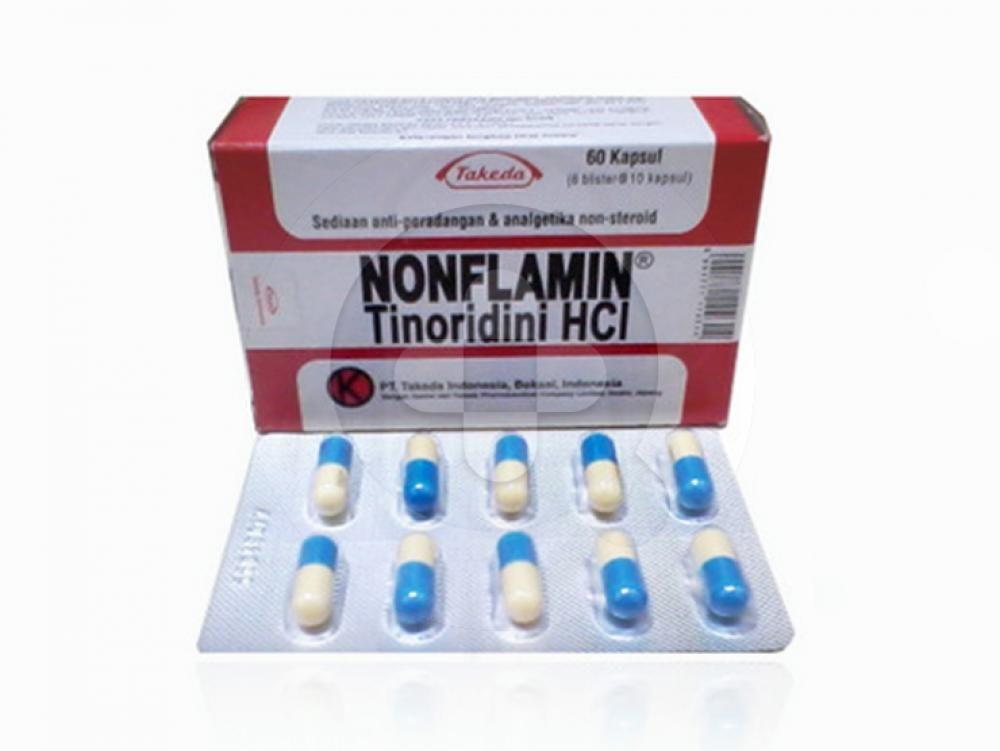 Nonflamin Kapsul 50 mg | Informasi Obat, Dosis, Efek Samping