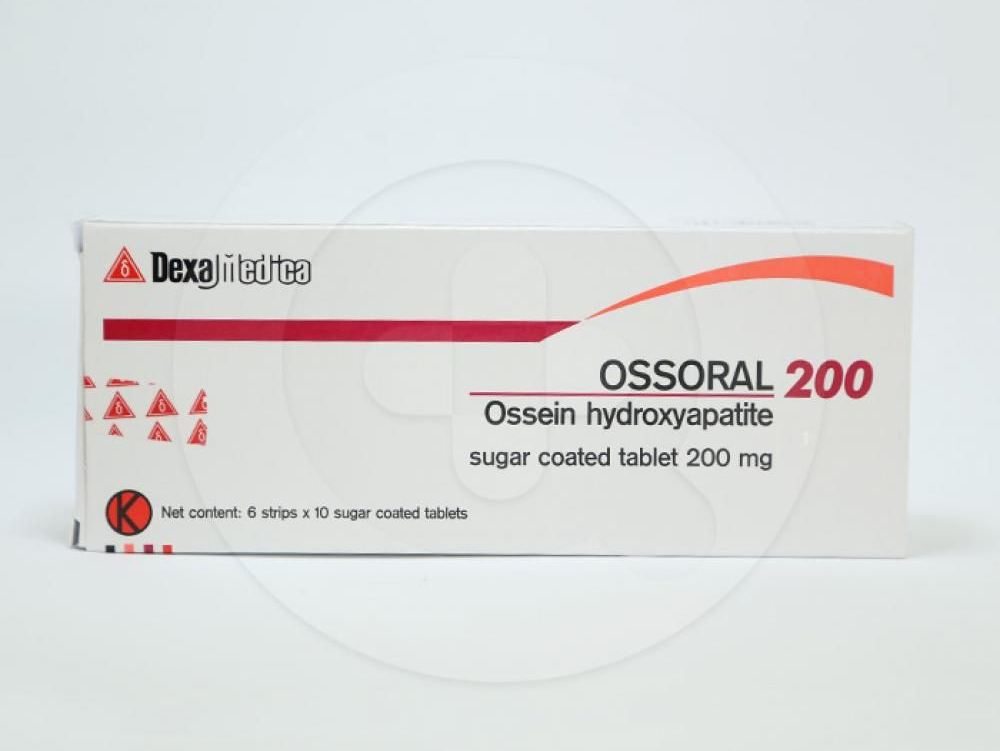 Ossoral tablet 200 mg