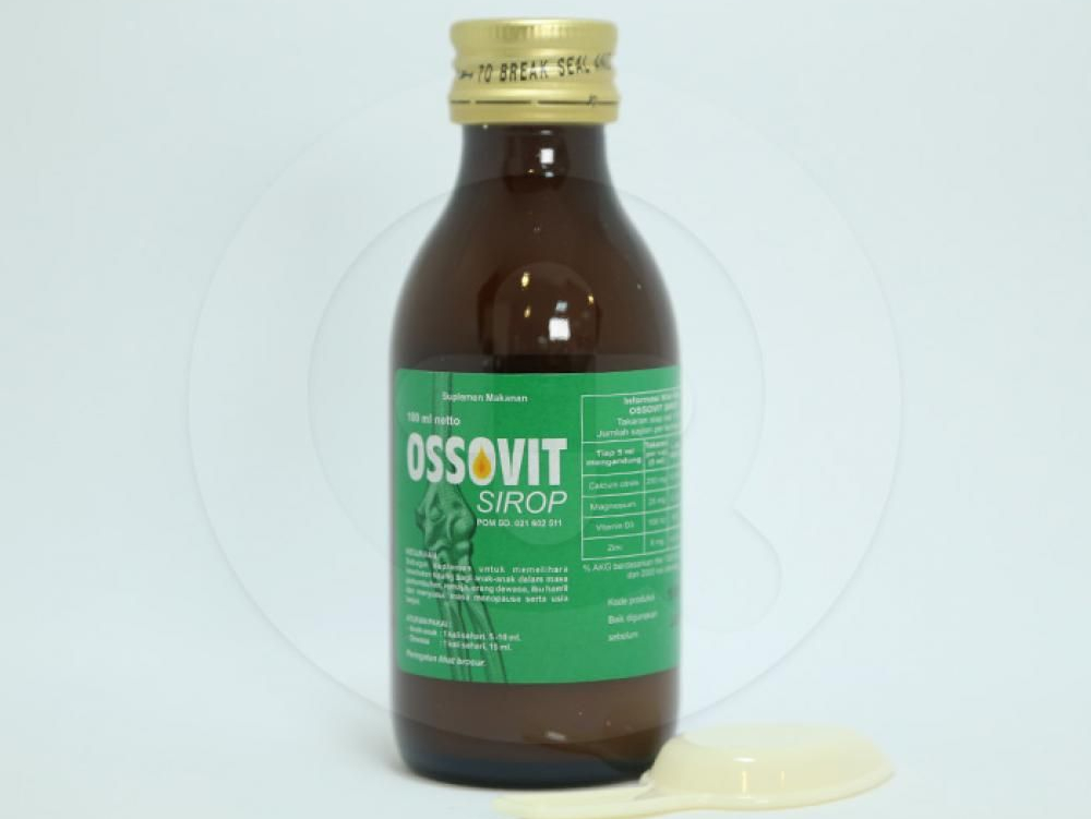 Ossovit adalah suplemen makanan untuk menjaga kesehatan tulang