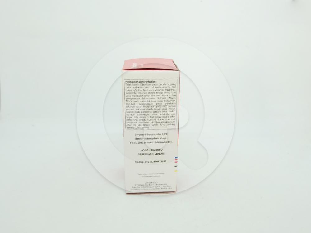 Actifed plus cough suppressant sirup 60 ml untuk meringankan pilek dan batuk gatal dan kering.