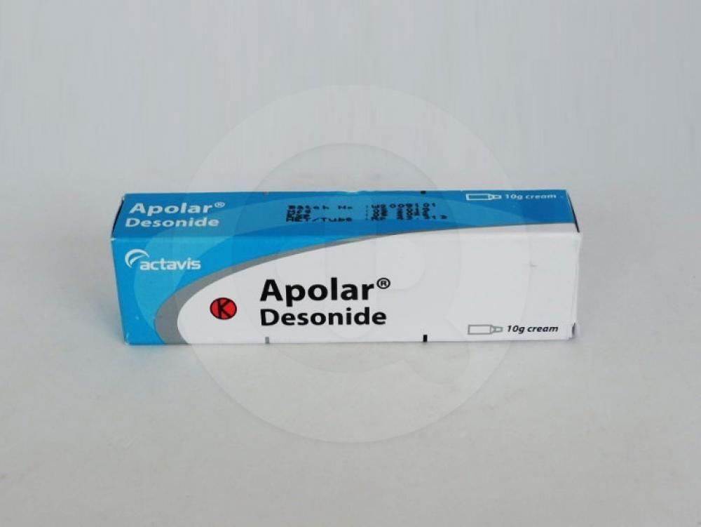 Apolar krim 10 g untuk mengatasi berbagai jenis peradangan pada kulit.