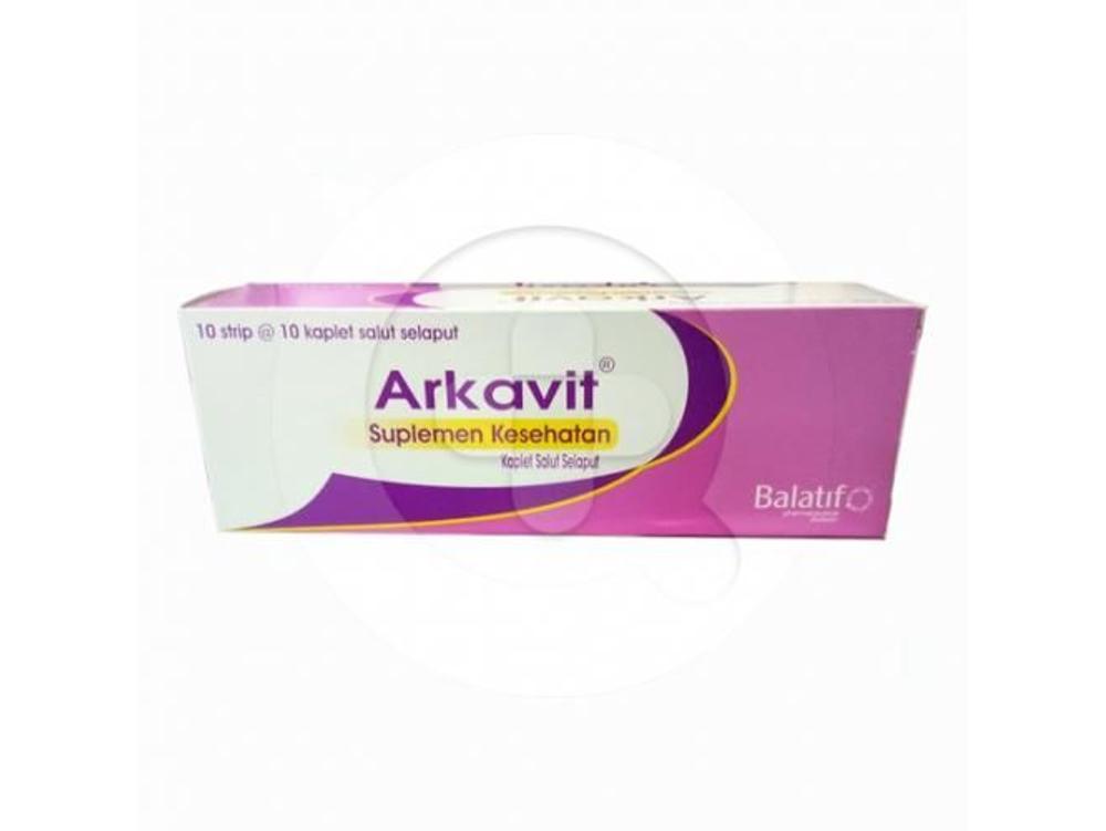 Arkavit kaplet adalah suplemen untuk memenuhi kebutuhan vitamin B kompleks.