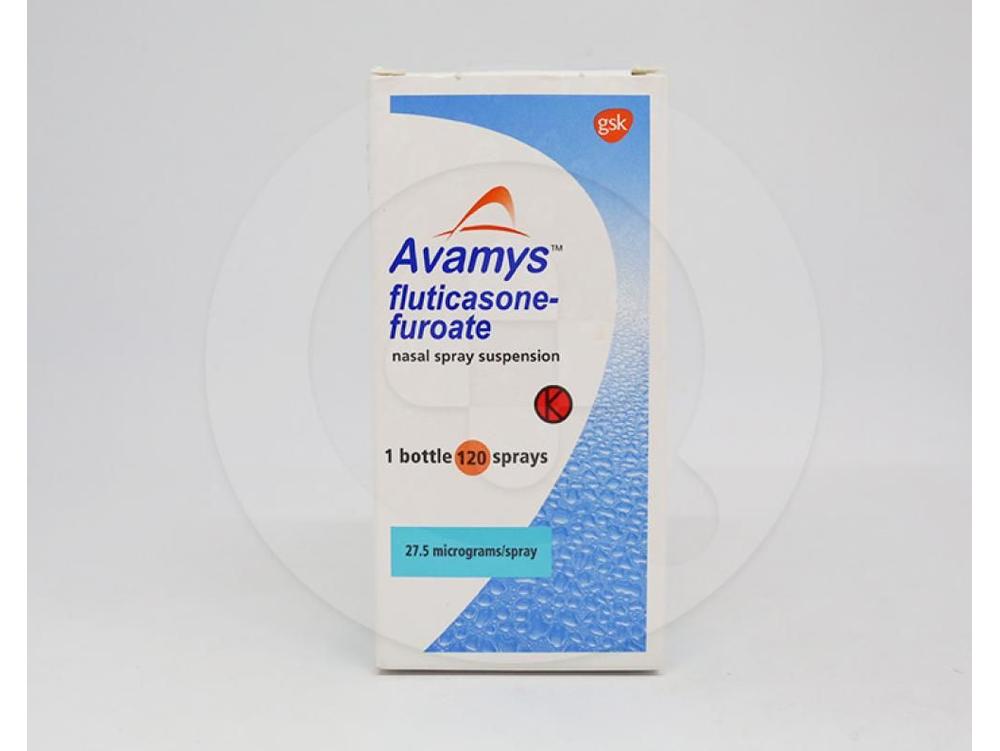 Avamys suspensi semprot hidung adalah obat yang digunakan untuk meringankan gejala alergi rinitis