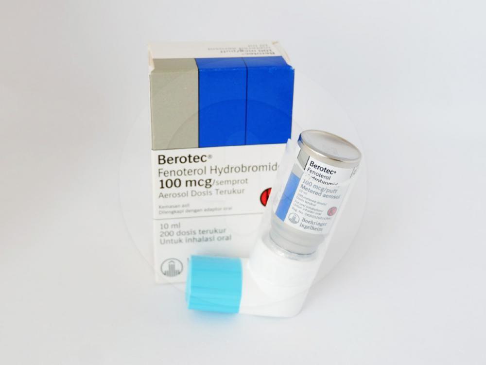 Berotec Inhaler 200 Dosis Manfaat Dan Indikasi Obat Dosis Efek Samping