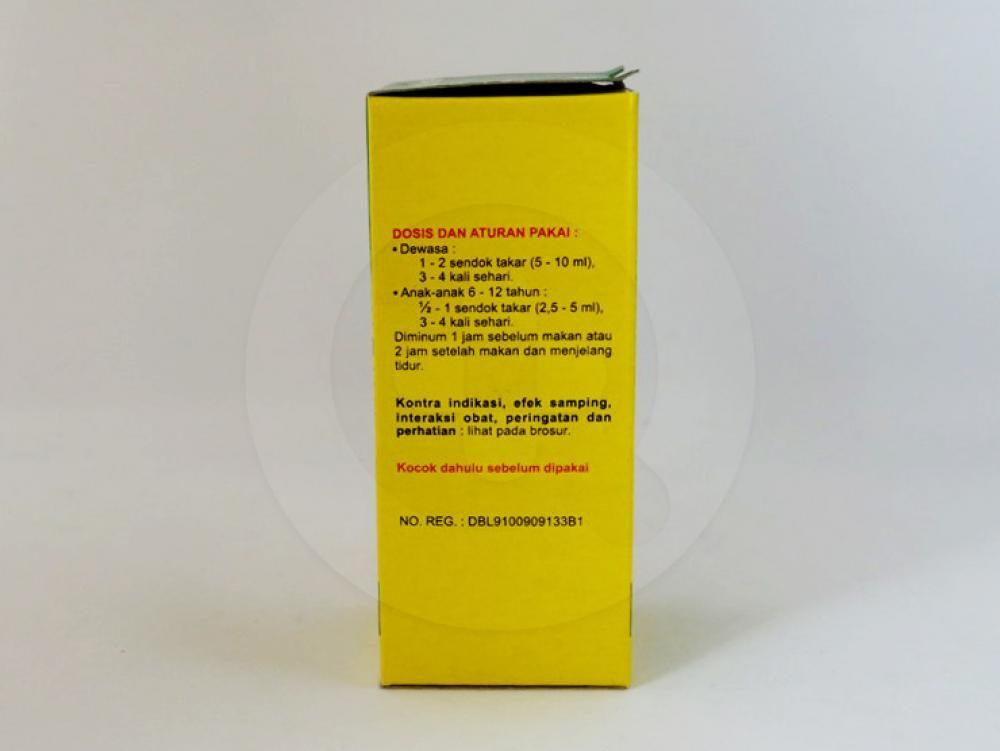 Bufantacid forte suspensi 60 ml adalah obat yang digunakan untuk mengurangi gejala-gejala yang berhubungan dengan kelebihan asam lambung, gastritis, tukak lambung, tukak usus dua belas jari.